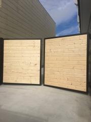 Wood Automatic Driveway Gate