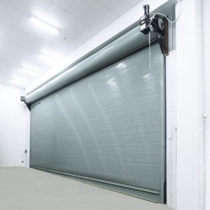 Commercial automated overhead door